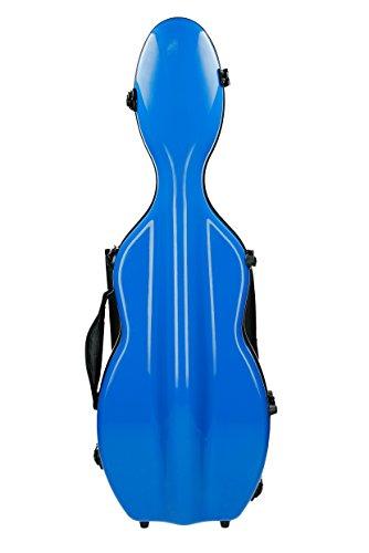 Custodia per violino in fibra di vetro Ultra light 4/4 blu reale M-Case