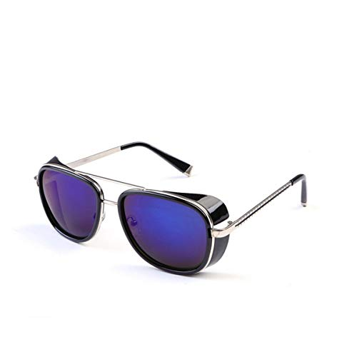 FGRYGF-eyewear Sport-Sonnenbrillen, Vintage Sonnenbrillen, Sun Glasses Iron Man Tony Stark Sunglasses For Men Women Vintage Steampunk Classic Steampunk Mirror SI21 5