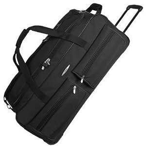 Jeep Extra Large Wheeled Luggage Bag 34 Inch Black