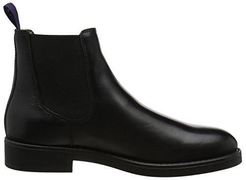 GANT Herren Oscar Chelsea Boots Schwarz (Black)