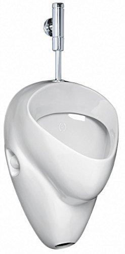 Ceravid MrClever Urinal Zulauf von oben Ablauf nach unten inkl. Druckspüler im Set, Ceravid C0736500