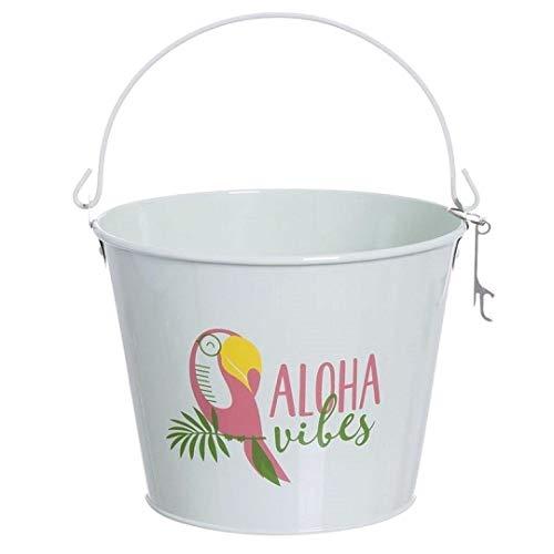 Dream Hogar cubitera Cervezas Cubo Metal Aloha Vibes