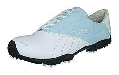 Puma Tour Saddle SL Damen Golfschuhe White 41: