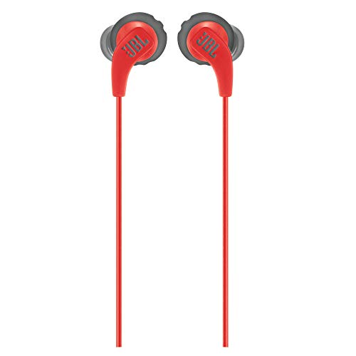 JBL Endurance Run Sweat-Proof Sports in-Ear Headphones with One-Button Remote and Microphone (Pink) Image 4