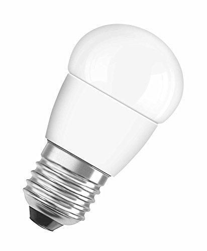 OSRAM LED SUPERSTAR Ampoule LED, Forme sphérique, Culot E27, Dimmable, 3,2W Equivalent 25W, 220-240V, dépolie, Blanc Chaud 2700K, Lot de 1 pièce