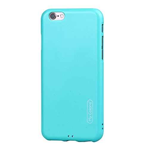 "MOONCASE iPhone 6/iPhone 6s Coque, Housse Étuis Doux TPU Anti-rayures Anti-chocs Protection Slim Fit Résilient Armor Case pour iPhone 6/iPhone 6s 4.7"" Sky-blue Sky-blue"