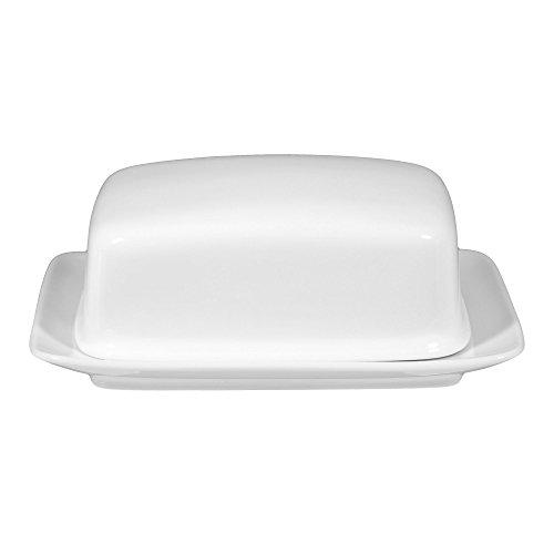 Seltmann Weiden 001.458043 Compact - Butterdose 1/2 PFD - Porzellan - weiß - Compact Butterdose