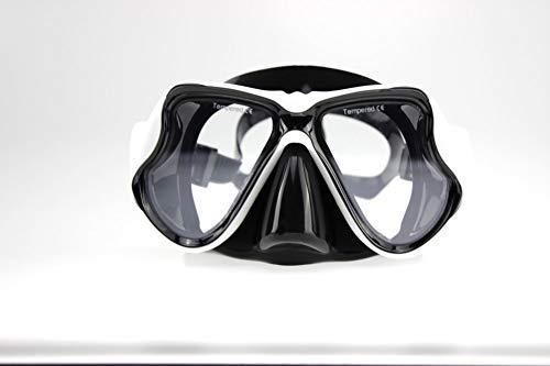 StrawBerrys Kurzsichtig Schnorchelmaske Taucherbrille Dioptrin Dioptrien Korrektur Tauchmaske für Erwachsene und Kinder mit Kurzsichtigkeit (N1, diff)