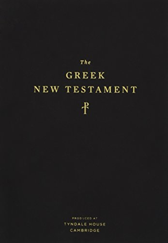 The Greek New Testament, Produced at Tyndale House, Cambridge (TruTone, Black)