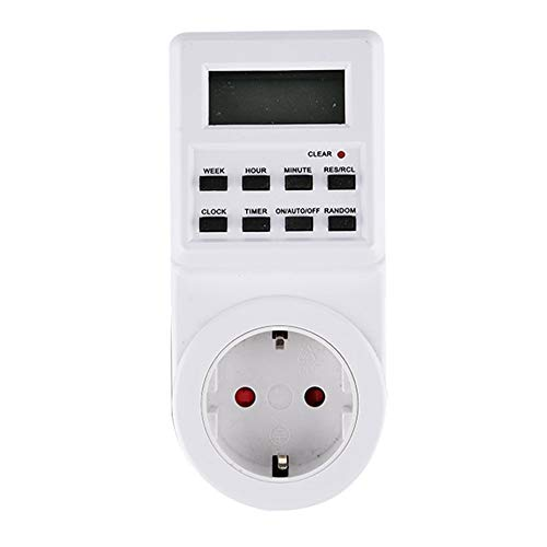 Digital Timer Switch Socket Outlet Plug-in Time Control for Electric Appliance