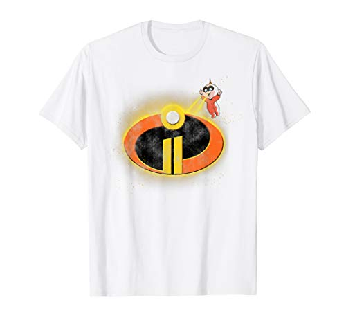 Disney Pixar Incredibles 2 Jack Jack Logo Eye Beam T-Shirt