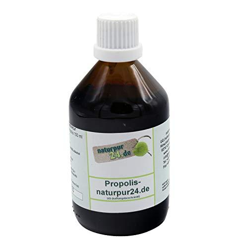 Hochwertiges 50%`ges Propolis wasserfrei Propolistropfen Propolistinktur 100 ml Bienenkittharz 50% in Bioqualität
