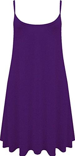 Re Tech UK Damen Skater Kleid blau blau 36 Violett