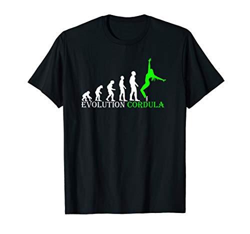 Evolution Cordula in Grün Fan T Shirt Dance ist echt nice
