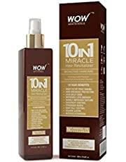 WOW 10 in 1 Miracle No Parabens Mineral Oil Hair Revitaliz