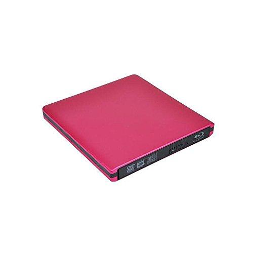 sanqi Blu-Ray DVD Laufwerk 3D USB 3.0 Externes Brenner Tragbarer DVD CD Optische Lesegeräte für PC Windows Vista/XP/7/8/13 Mac OS
