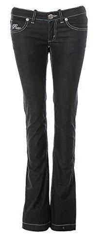 Phard -  Jeans  - straight - Donna Black 26W