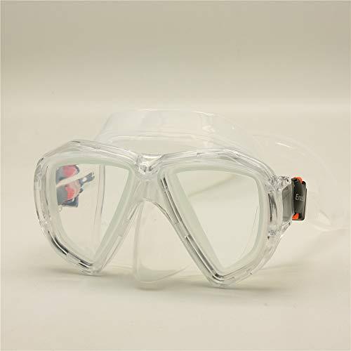 EnzoDate Optische Schnorchelmaske Corrective Scuba Goggles Bifokale Kurzsichtigkeit