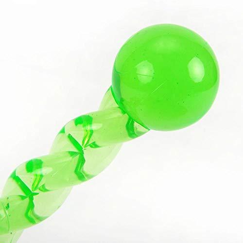 HUYDLD Heimtierbedarf Hundezähne Stick Hunde Spielzeug Umwelt lebensmittelqualität TPR Material zahnreinigung kauen behandeln zahnen hundekauen Spielen Spielzeug grün -