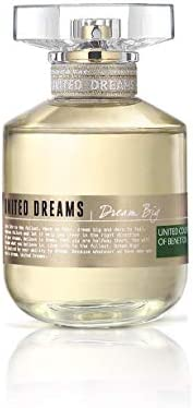 United Colors of Benetton United Dreams Dream Big by United Colors Of Benetton - perfumes for women, 2.7 oz ED