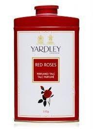 Yardley London RED ROSE Perfumed Deodorizing Talc Talcum Powder 100gm by Yardley of London