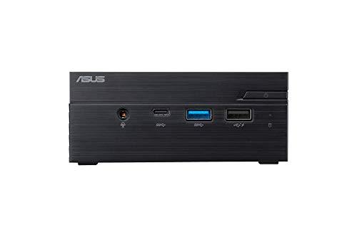 ASUS PN40-CB123ZC - Mini Desktop PC (Intel Celeron J4005, 4GB RAM, 64GB SSD, UHD Intel integrated graphics card Graphics, Windows 10 PRO) Negro