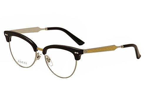 Gucci - GG 4284, Schmetterling, Acetat, Damenbrillen, BLACK PALLADIUM(CSA), 52/17/140