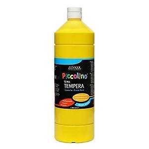 Piccolino Ready Mix Schultempera - Pintura (1000 ml), Color Amarillo primario