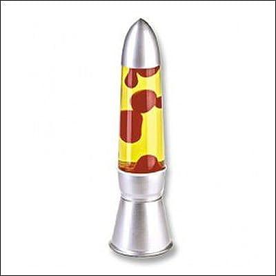 Magmaleuchte / Lavalampe, 44cm, Gelb/Rot, MGL 300