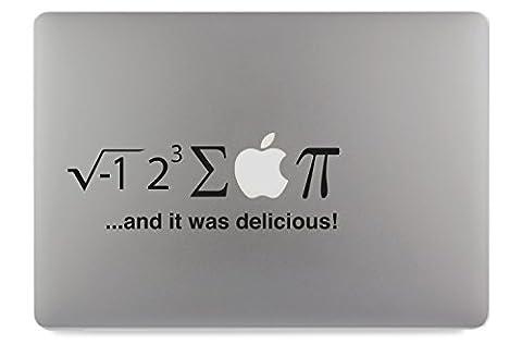 I ate some pie math Mathe Apple MacBook Air Pro Aufkleber Skin Decal Sticker Vinyl (13