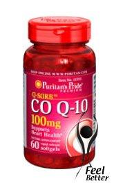 Q-SorbTM coenzyme Q10 100 mg 60 gélules molles