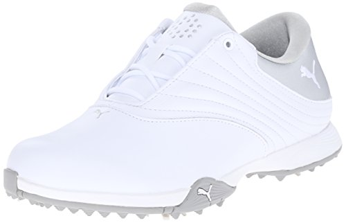 Scarpe da golf Puma Blaze da donna, argento-Puma bianco, 7,5 medio US