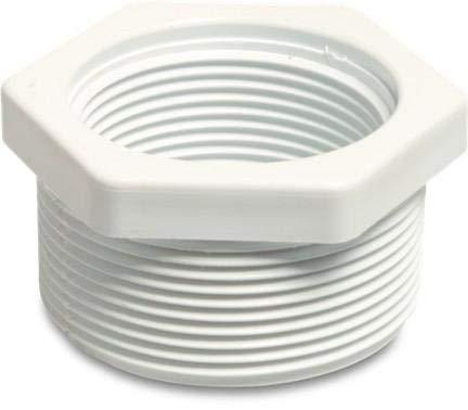 piscine Tube Fittings - 5,1 - 3,8 cm fileté Réducteur