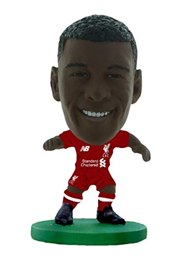 SoccerStarz SOC1149 Liverpool Georginio Wijnaldum-Home Kit (2019 Version)/Figuras, Verde
