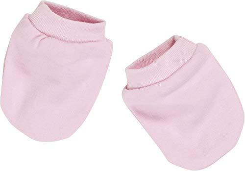 Schnizler Unisex Baby Kratzfustlinge, Oeko Tex Standard 100 Fäustlinge, Rosa (Rose 14), One size Baby-fäustlinge
