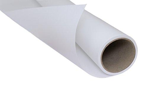 Reißfestes Schnittmusterpapier 20 Meter - Schnittmuster abpausen leicht gemacht! Vielseitig verwendbares Transparentpapier zum Nähen, Skizzieren, Basteln und Verpacken - 20 Meter Papierlänge