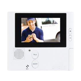 "Ex-Pro® 2.8"" Complete Colour, Intercom, Unlock, On-Door entry phone system."