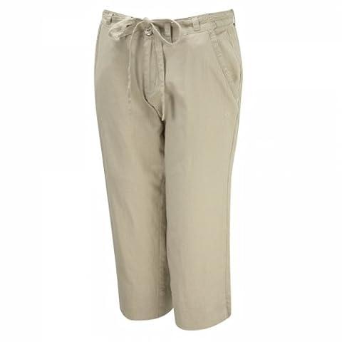 Craghoppers solardry pantalon de survêtement 3/4 crops 40 Gris - Gris clair