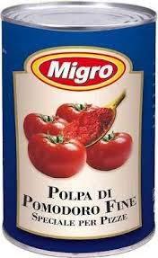 Pizza Tomatensauce 3x4kg (Thunfisch-oliven-öl)