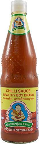 Healthy Boy Chilli Sauce pikant 700ml (Thai-küche-chili-sauce)