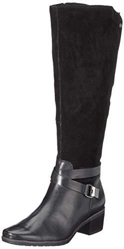 CAPRICE Damen 9-9-25608-21 019 Stiefeletten, Schwarz (Black Comb 19), 39 EU