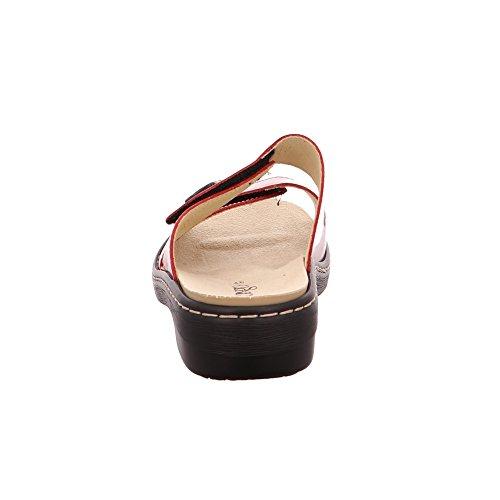 LONGO 3076356-2, Zoccoli donna Rot
