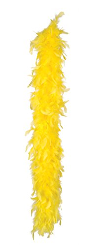 Gelb Kostüm Tanz (Boland 52701 - Federboa, circa 180 cm,)