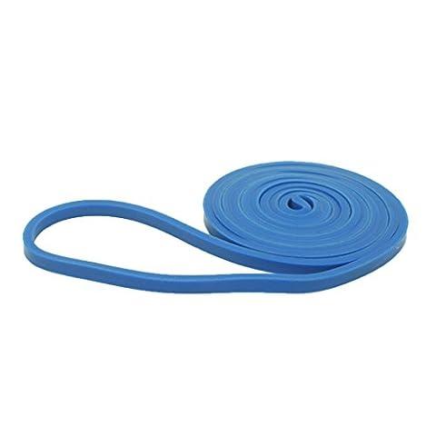 Andux Zone Widerstandsband Resistance Band set Pull Up Bänder Übungsband Premium LaTeX Gummi Loops für Yoga, Pilates, Training, Reha-Sport Physio Gymnastik TLD-02 (Blau (2-15 lbs))