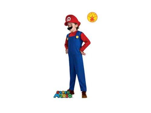 stüm - L (140cm) (Mario-kostüm Für Kleinkind)