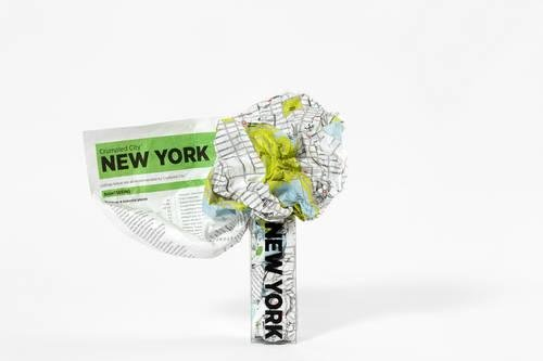 Crumpled City: New York. Soft city maps for urban jungles: Die cleveren Stadtpläne für Großstadtnomaden (Crumpled City Maps) (Wie Shop Mit Amazon Geschenk-karte)
