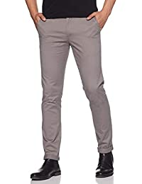 IN TRY Men's Stretchable Slim Fit Casual Chinos