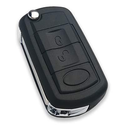 Automobile serrurier pour Land Rover Range Rover 3 Boutons télécommande Flip Key Fob Coque