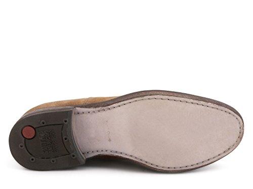 Smith's American women's Schuhe in Tabak-Veloursleder - Modellnummer: WODRESS2 CAM TOB Tabak
