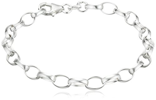 SilberDream Armband 925 Sterling Silber Charm Bettelarmband 16,5cm für Charms Anhänger FC0000